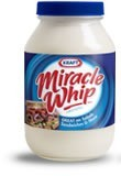 jar of Miracle Whip