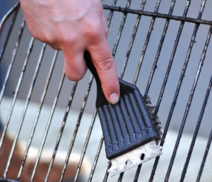 Cleaning Stainless Grill