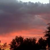 Sunset Eagle Mountain Utah