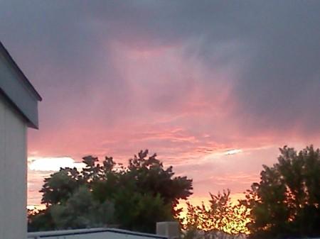 Sunset Eagle Mountain Utah Part Two