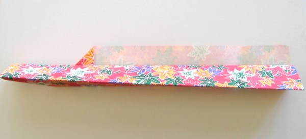 Origami Chopstick Sleeve Step 3