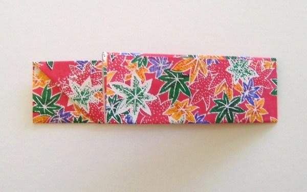 Origami Chopstick Sleeve Step 4