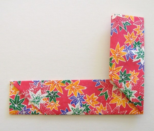 Origami Chopstick Sleeve Step 5