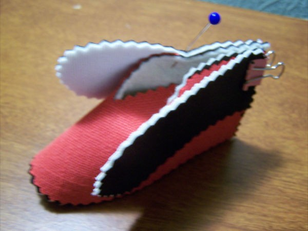 Baby Booties side flaps