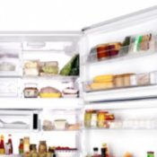 Organizing Your Cross-Top Freezer, Picture of an organized freezer.