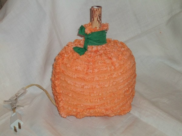 Fabric Pumpkin Lights Step 6