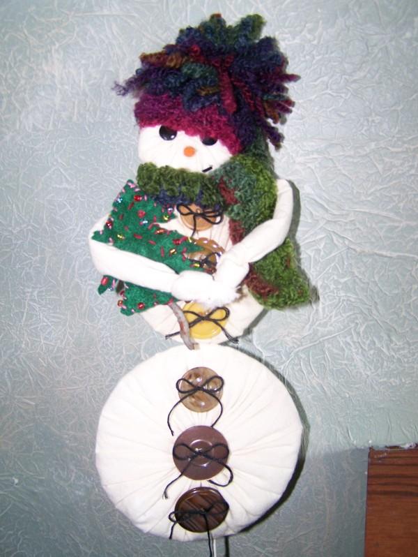 Snowman Plant Stake