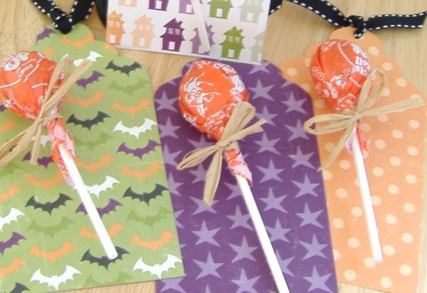 Lollipop Halloween Tags 2