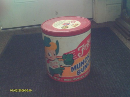 Vintage FritoLay can.