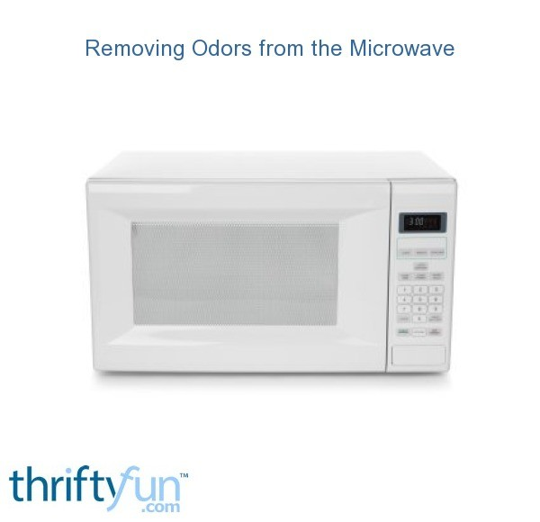Removing Odors from the Microwave | ThriftyFun