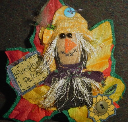 Scarecrow Pin
