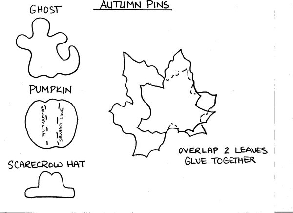 Template for Fall Pins