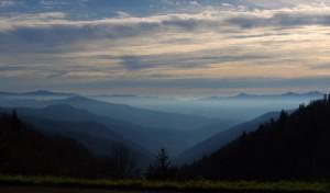 Fog Rolling Through the Smokey Mountains