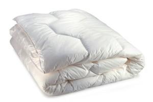 White Folder Comforter