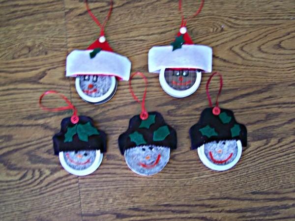 Santa/Snowman Ornament