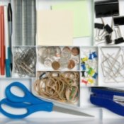 Organizing a Home Office, Organized Office Supplies