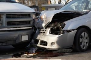 Saving Money on Auto Insurance, A car accident.