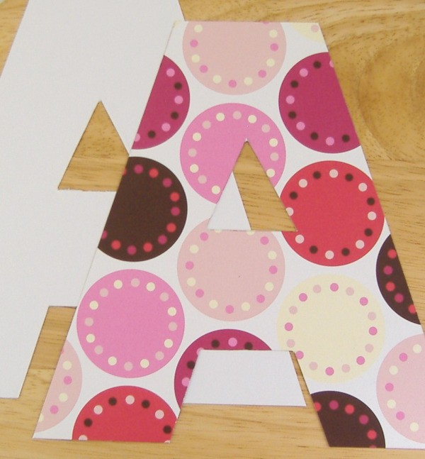 making paper letters thriftyfun