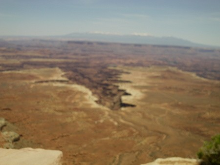 Aerial view of Dead Horse Point UT