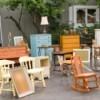 Furniture Being Sold at Estate Sale