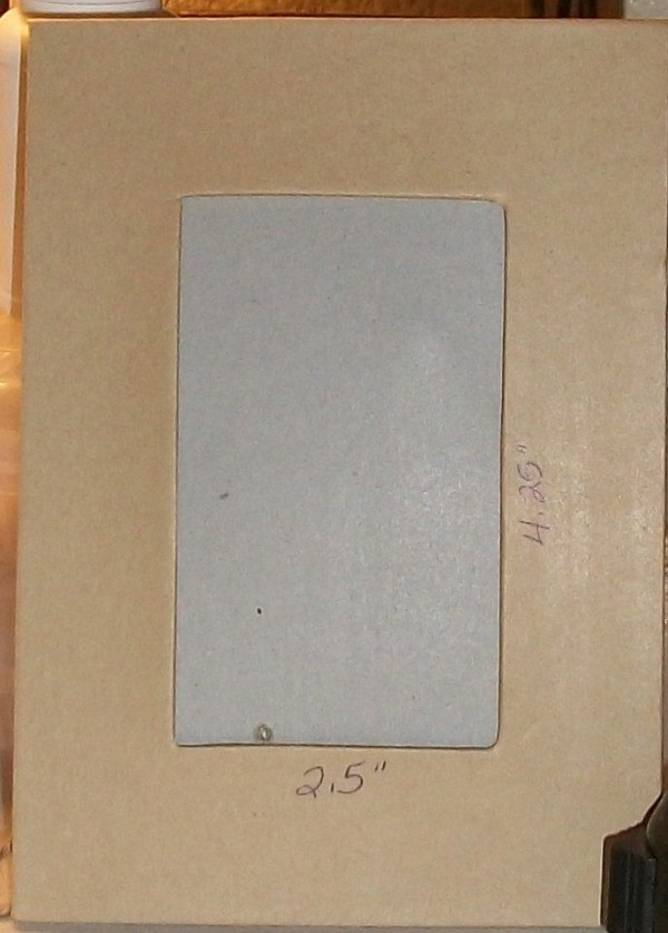 Cardboard Frame 2