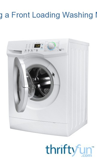 Cleaning a Front Loading Washing Machine | ThriftyFun