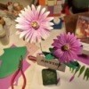Purple and Pink Paper Daisies