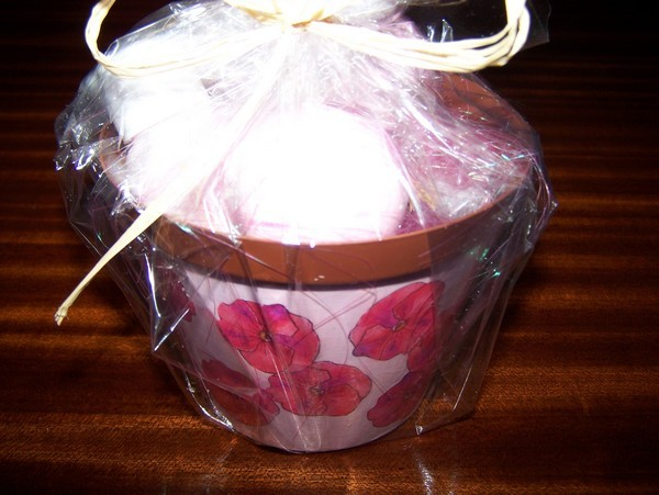Recycled Plastic Flower Pot Gift