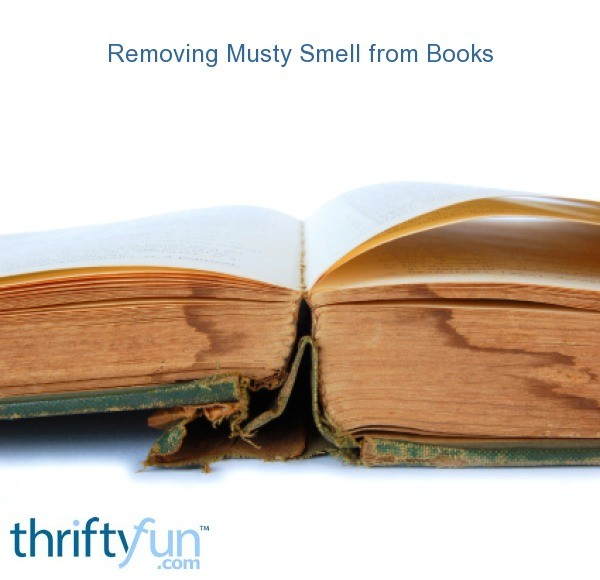 removing musty smell from books thriftyfun. Black Bedroom Furniture Sets. Home Design Ideas