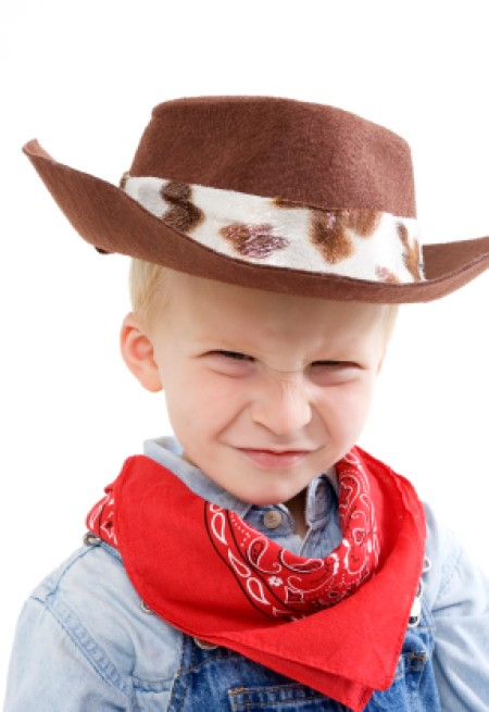 LIttle Boy in Cowboy Costume