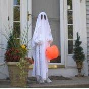 Child in Ghost Costume