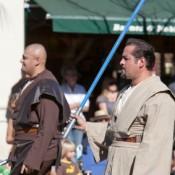 Jedi's Walking Outside