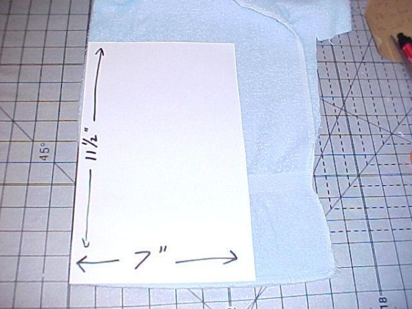 Icepack Cover Template