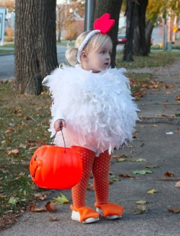 Cute Little Girl in Chicken Costume : chicken costume toddler  - Germanpascual.Com