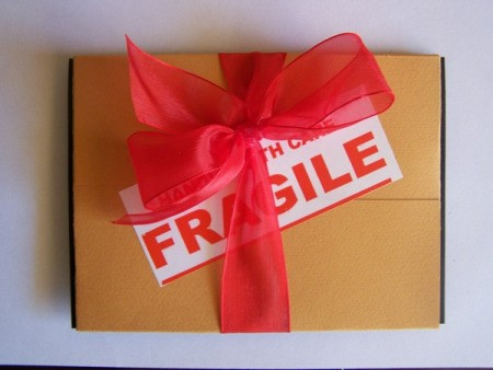 Fragile Package Card