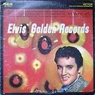 Jacket for Elvis Golden records.
