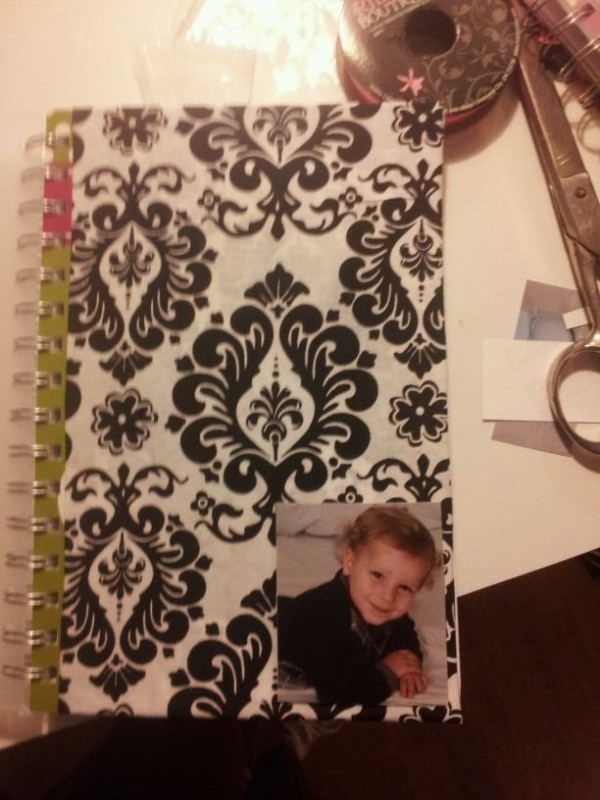 Make your own planner step 7