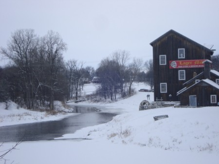 Lager Mill in Winter