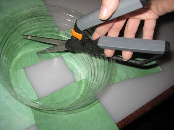 Cutting Fabric to Fit Cone