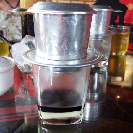 Vietnamese Coffee with Filter