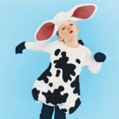 Child in Cow Costume