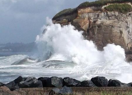 Waves Crashing at Bastendorf Beach