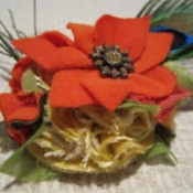 Fall Flower Accessory
