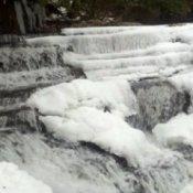 Frozen Dismal Falls