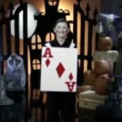 Boy Dressed as a Playing Card