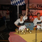 Bavarian Performers Playing Cowbells