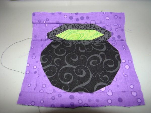 Finished cauldron block.