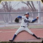 Photo Cutout of Baseball Pitcher
