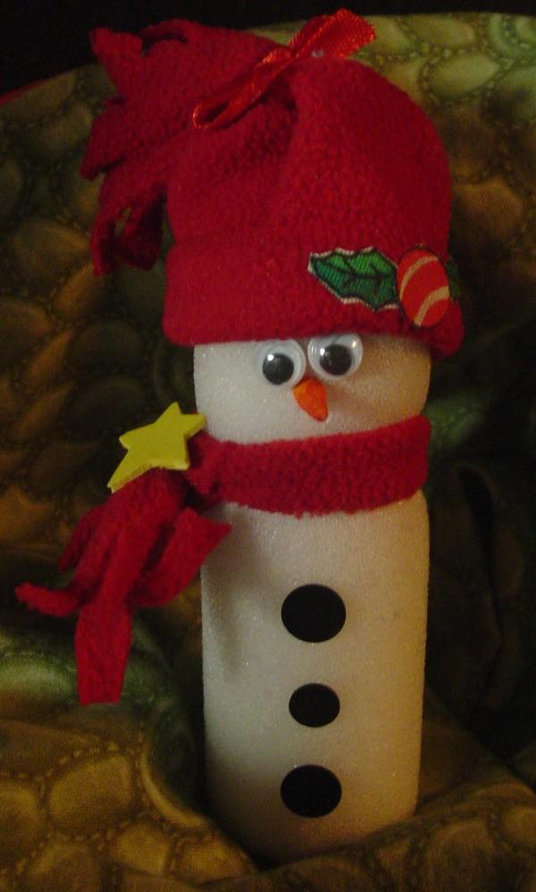 Paint Roller Snowman 2