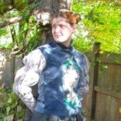 Woman in Princess Amidala Costume